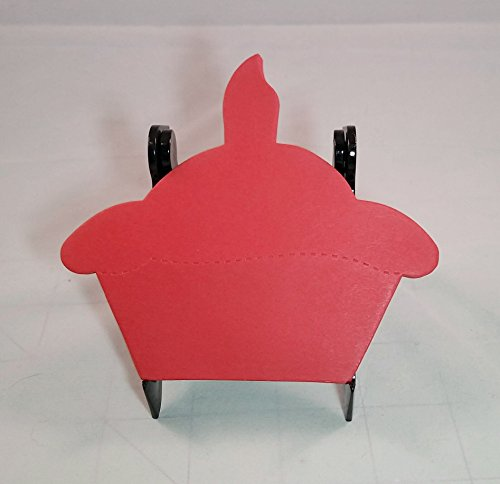 Red Cupcake Shaped Notepad