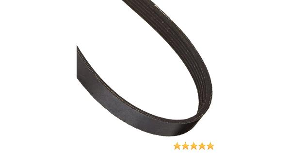 1194 mm Long 6 Ribs 6PJ1194 Ametric/® Metric Poly-V Belt 2.34 mm Pitch, Mfg Code 1-043 PJ Tooth Profile