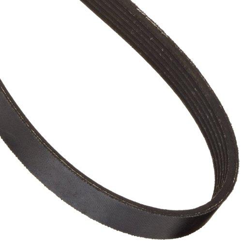 6PJ414 Ametric® Metric Poly-V Belt, PJ Tooth Profile, 6 Ribs, 414 mm Long, 2.34 mm Pitch, (Mfg Code 1-043)