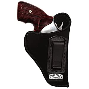 Uncle Mike's Off-Duty and Concealment Nylon OT ITP Holster (Black, Size 0, Left Hand)