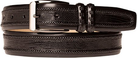 Mezlan Men's Black Belt AO9742 (US Men's 44, Black)