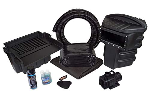 Professional Pond Kit - Simply Ponds 4000 Water Garden and Pond Kit with 20 Foot x 25 Foot PVC Liner