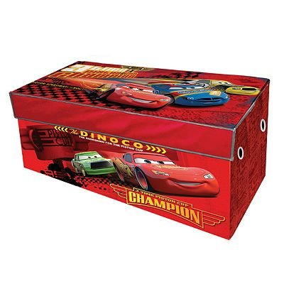 Disney Pixar Cars Collapsible Storage Trunk Chest - Toy Box