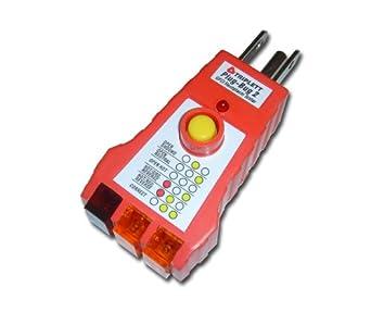 Triplett Plug-Bug 2 9610 GFCI Receptacle Outlet Tester