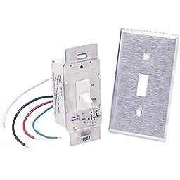 Fantech FLD 60 Light/Fan Switch, 60 minutes Delay, 115V