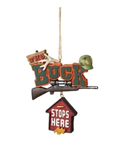 Funny Stops Plaque Christmas Ornament