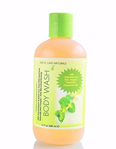 Elizabeth Arden Glove (Exotic Care Naturals Antifungal Anti Acne Organic Natural Body Wash w/Tea Tree Oregano-Sulfate Free)