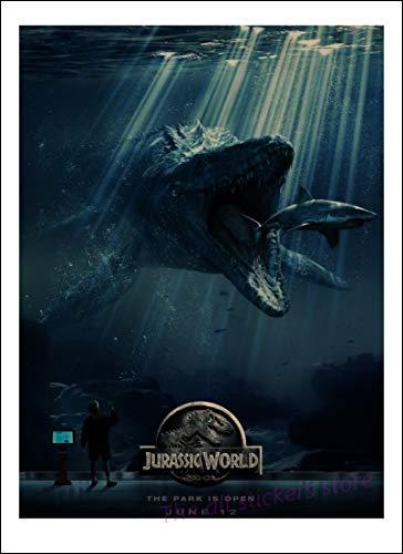 LTTA Wall Stickers - Jurassic Park Movie Posters