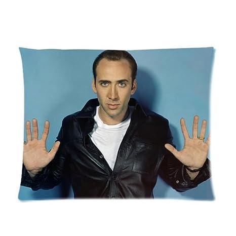 Amazon.com: Custom Nicolas Cage Pillow Cases 20x26 (one side ...