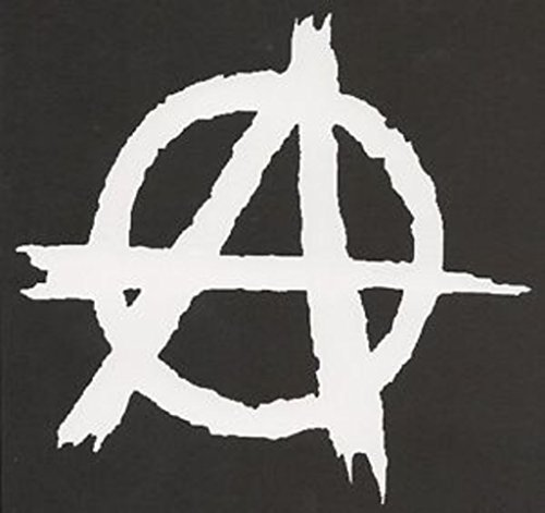 Anarchy Decal Vinyl Sticker Cars Trucks Vans Walls Laptop White  5In Wide Decal Kcd296