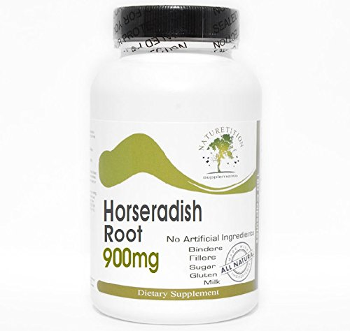 Horseradish Root 900mg ~ 180 Capsules - No Additives ~ Naturetition Supplements
