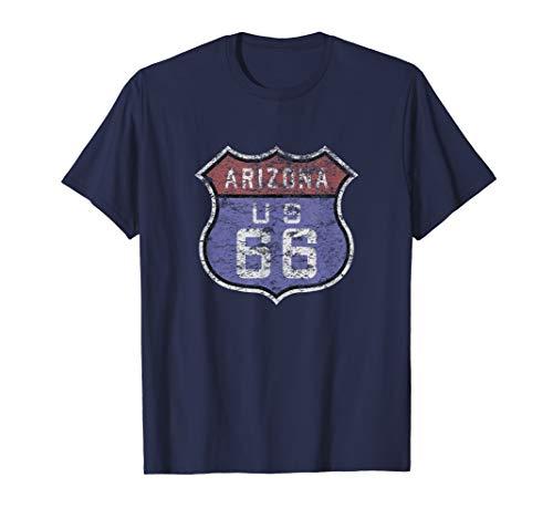 T-shirt Sign Brown - Arizona Route 66 T-Shirt for Men, Women, & Kids