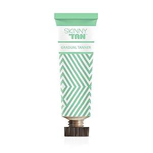 Skinny Tan Gradual Tanner - No Orange, No Streak, Cellulite Reduction Lotion All Skin Types