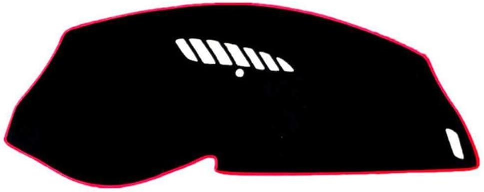 MIOAHD Dashboard Cover Mat Pad Dash Sun Shade Instrument Carpet,Fit for Citroen C5 2008 2009 2010 2011 2012 2013 2014-2017