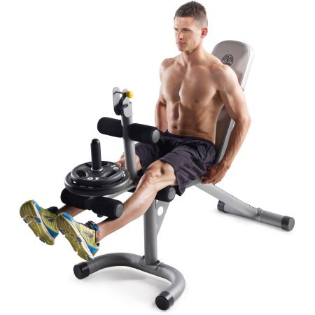 Gold's Gym XRS 20 Olympic Workout Bench GGBE19615 by Gold's
