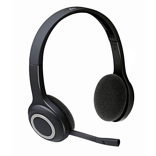 Logitech Over-The-Head Wireless Headset H600 (Renewed)