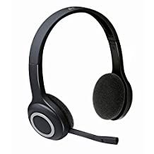 Logitech H600 Wireless Headset (981-000341) (Renewed)