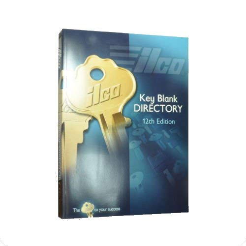 Kaba Ilco 12th Edition Key Blank Directory & Cross Reference Catalog Guide Book