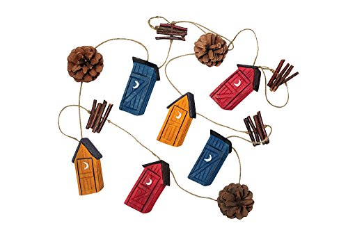 Outhouse Garland (Outhouse Ornaments)