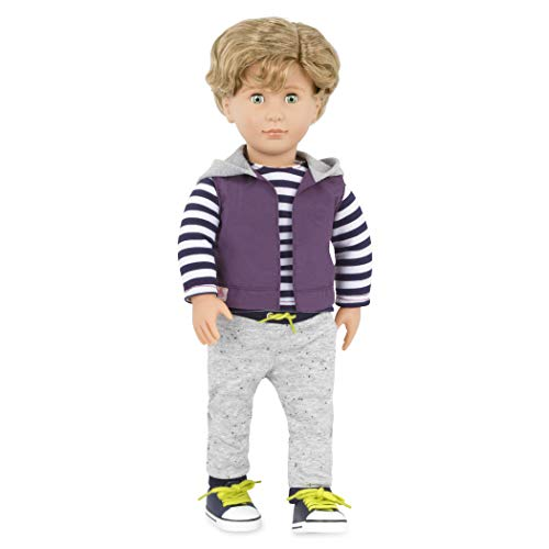 Our Generation Doll by Battat- Raphael 18 Regular Non-Posable Fashion Boy Doll- for Age 3 Years & Up