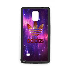 The logo of Adidas for SamSung Galaxy Note4 Black Case Hardcore-4