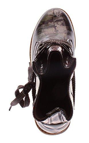 Ankle strap Women's City Sun amp;shadow Black qp86n0w