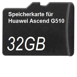 DSP - Tarjeta de memoria para Huawei Ascend G510 32 GB ...