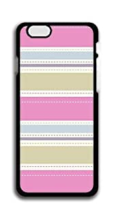 TUTU158600 Custom Cover Case with Hard Shell Protection iphone 6 cases for girls protective - Colored striped paper