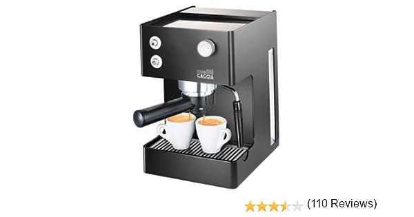 Gaggia RI8151/60 - Cafetera (Independiente, Máquina espresso, 2,5 ...