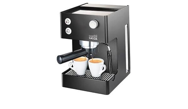 Gaggia RI8151/60 Independiente Manual Máquina espresso 2.5L Negro - Cafetera (Independiente, Máquina espresso, 2,5 L, De café molido, Negro): Amazon.es: ...