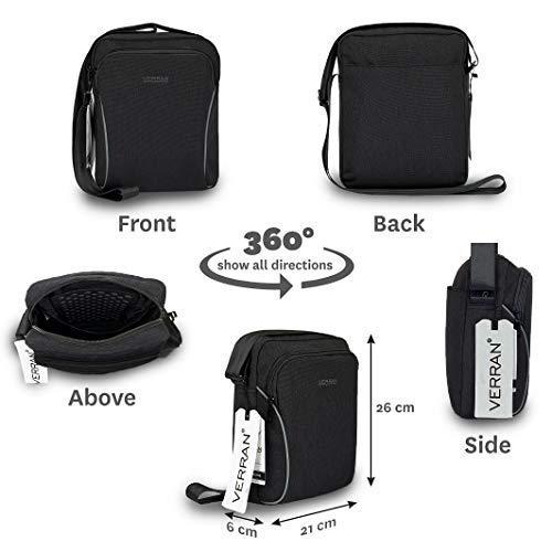 80f9ef66d Verran Vintage Small Cross-Body Bag for Men Scratch/Water/Shock ...