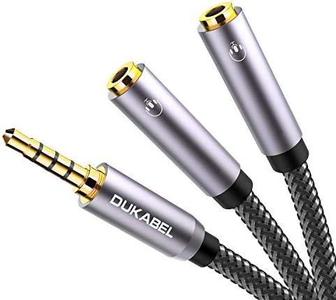 Headphone Splitter Gold Plated 2 Female DuKabel product image