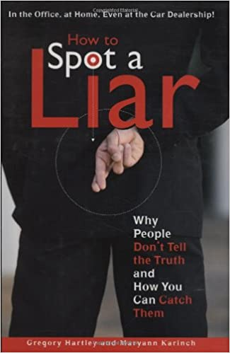how can you spot a liar
