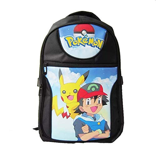 Pokémon Pikachu Ash Ketchum Backpack Anime Cosplay Backpack
