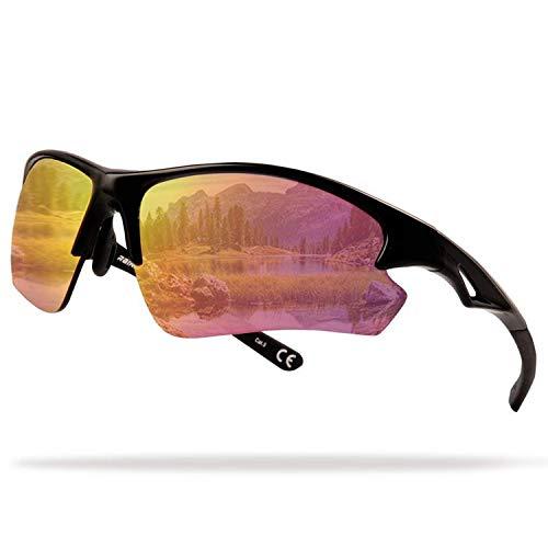 Flux Sports Sunglasses: Special Ops Sunglasses with PC Polarized Lenses Rainier