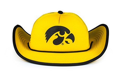Cowbucker Iowa Hawkeyes Gold Bucker Hat | Officially (Hawk Lightweight Hat)