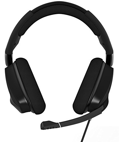 CORSAIR VOID PRO RGB USB Gaming Headset - Dolby 7.1 Surround Sound Headphones for PC - Discord Certified - 50mm Drivers - Carbon Photo #4