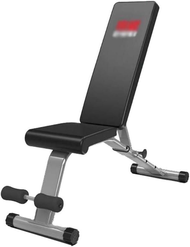 GYL Workout Bench - Dumbbell Bench Sit-ups Gimnasio para El Hogar Sillas Multifunción para Ejercicios De Supine Board Fitness Chair