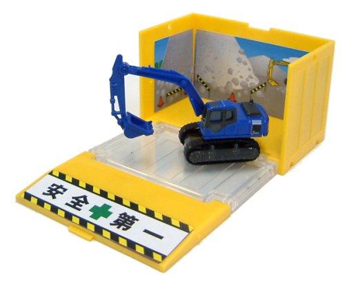 1/125 コマツ 油圧ショベル PC200 ガレオ(ブルー) 「トミカメイト コンテナトミカ工事車両シリーズ」