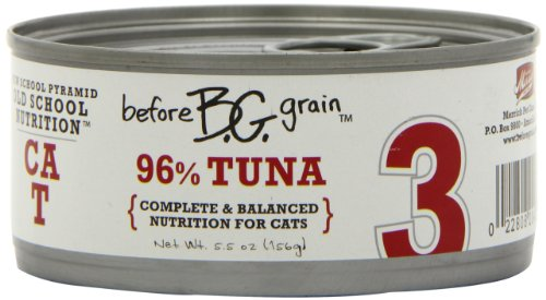 Merrick Before Grain #3 Tuna Paté Style Cat Food, 5.5 Ounce Can (24 Count Case), My Pet Supplies