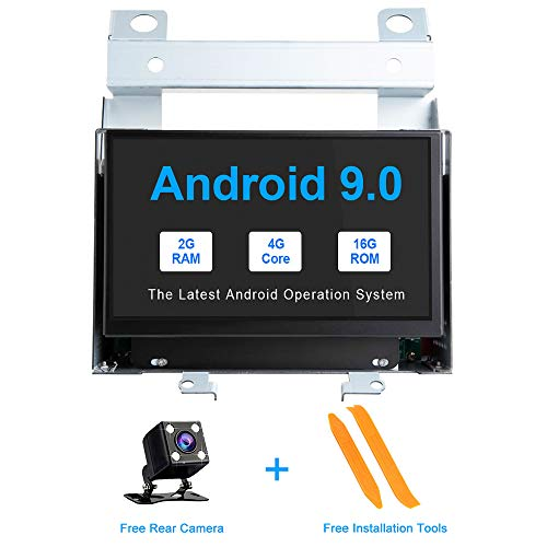 TOOPAI Android 9.0 Car Multimedia Player for Land Rover Freelander 2 2007-2012 GPS Radio Head Unit Stereo Radio Support Screen Mirror WiFi OBD2 Steering Wheel Control Full RCA Output ()