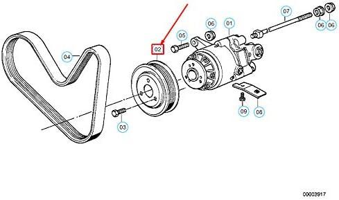 GTV INVESTMENT 5 E34 polea de direcci/ón asistida 32421736934 1736934