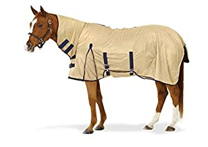 Centaur Softmesh Combo Fly Sheet - Attached Neck Cover Bellyband - Size:78 Color