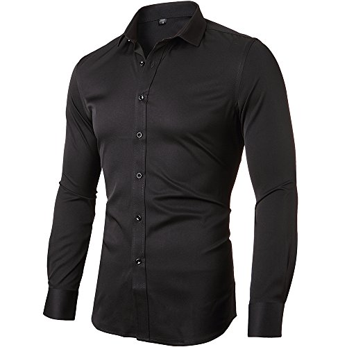 dress shirts with black suits - 4