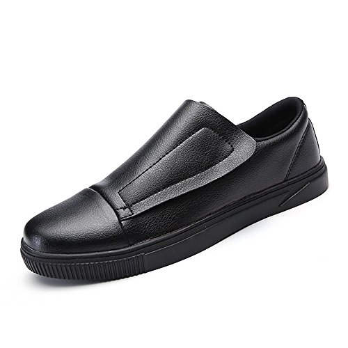 color Loafer 39 Hombres Hombre De Pedal Negro 2018 Un White Tamaño shoes Shoe Moda Tide Pedals 100 Recreativa Eu Yajie Patineta Para The Build And Zapatos Mocasines Black xRO8xgX