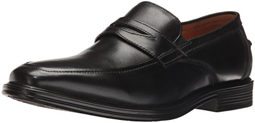 Florsheim Men's Holtyn Slip on Penny Loafer, Black, 10.5 D US by Florsheim