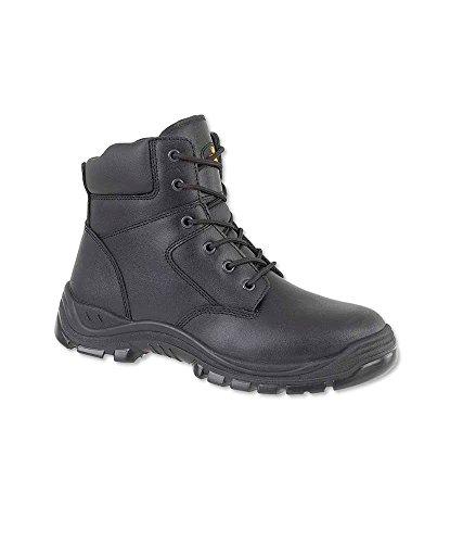 Alexandra stc-fw510bk-8Sicherheit Boot, einfache, Dual-Density Polyurethan, Größe: 8, schwarz