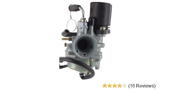 Carburetor for Arctic Cat, Can-Am, Eton, Polaris, Yamaha ATV's & Scooters  Electric Choke 2-Stroke