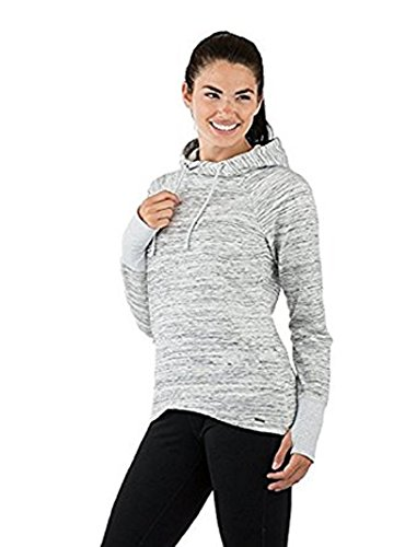 Avalanche Women's Outdoor Mila Pullover Hoody, (Silver Space Dye)- Medium (Space Dye Pullover compare prices)