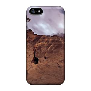 Fashion Protective Tree On Cliff Digital Case Cover For Iphone 5/5s